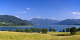 Germany, Bavaria, Upper Bavaria, Mangfall (Mountain Range), Tegernsee (Lake Fotografisk trykk av Udo Siebig