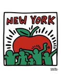 Sin título, 1989 Láminas por Keith Haring