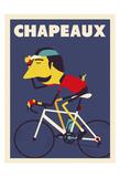 Chapeaux Plakat af Spencer Wilson