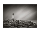Peggy's Cove Lighthouse Pósters por Steve Silverman