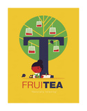 Fruitea Poster di Spencer Wilson