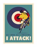 Attack Plakat af Spencer Wilson