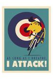Attack Posters av Spencer Wilson