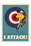 Attack Posters by Spencer Wilson