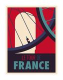 Tour de France Kunst av Spencer Wilson