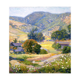 Jeweled Hills Prints by Joseph Kleitsch