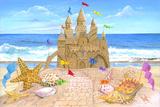 Château de sable Affiche par Scott Westmoreland