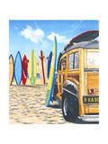 Beach Cruiser Kids Posters par Scott Westmoreland