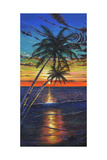 Sunset Palms Affiches par Scott Westmoreland