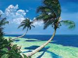 Beckoning Palms Pósters por Scott Westmoreland