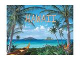 Tropic Travel Premium Giclee-trykk av Scott Westmoreland
