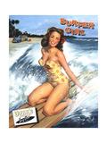 Surfeuse Affiches par Scott Westmoreland