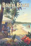 Bequia Beach Hotel Posters av Kerne Erickson