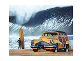 Buttercup Buick Poster von Scott Westmoreland