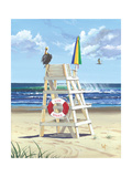 Pelican Perch Posters par Scott Westmoreland