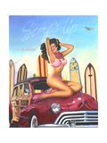 The Big Kahuna Poster von Scott Westmoreland