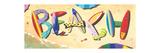Beach in Boards Affiches par Scott Westmoreland