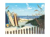 Zugang zum Strand, Englisch Poster von Scott Westmoreland
