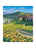 Golden Tuscana Posters par Scott Westmoreland