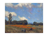 Poppy Fields Poster by Granville Redmond