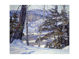 Inverno Pôsters por George Gardner Symons
