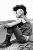 Punk October 1982. Fotografisk trykk av Manchester Daily Express/SSPL