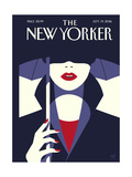 The New Yorker Cover - September 19, 2016 Giclee Print by Malika Favre