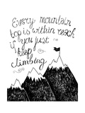 Hand Drawn Typography Poster. Inspirational Quote for Card. Pósters por  Marylia
