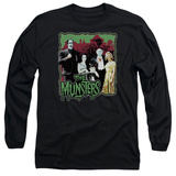 Long Sleeve: The Munsters- Normal Family Long Sleeves