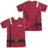 Star Trek- Admiral Kirk Uniform Costume Tee (Front/Back) Sublimated