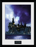 Harry Potter - Hogwarts Painted Stampa del collezionista