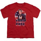 Youth: Happy Days- Fonz For Prez Shirt