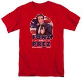 Happy Days- Fonz For Prez T-shirts