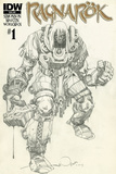 Ragnarok Issue No. 1 - Subscription Cover Print by Walter Simonson