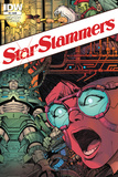 Star Slammers Issue No. 4 - Standard Cover Posters by Walter Simonson