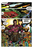 Star Slammers Issue No. 3 - Page 21 Photo by Walter Simonson