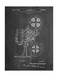 Movie Projector 1933 Patent Poster par Cole Borders