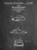 1964 Porsche 911 Patent Kunstdrucke von Cole Borders