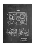 Record Player Patent Affiches par Cole Borders