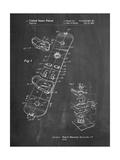 Burton Touring Snowboard Patent Affiche par Cole Borders