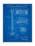 Gibson Les Paul Guitar Patent Affiches par Cole Borders