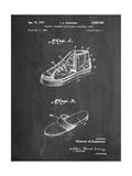 Basketball Shoes 1968 Patent Affiches par Cole Borders