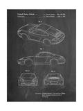 199 Porsche 911 Patent Giclée-Premiumdruck von Cole Borders
