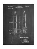 Von Braun Rocket Missile Patent Art par Cole Borders