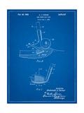 Golf Sand Wedge Patent Affiches par Cole Borders