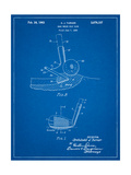 Golf Sand Wedge Patent Posters by Cole Borders