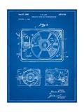 Record Player Patent Art par Cole Borders