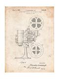 Movie Projector 1933 Patent Affiches par Cole Borders