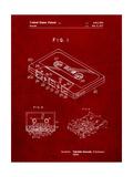 Cassette Tape Patent Posters par Cole Borders