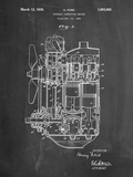 Ford Internal Combustion Engine Patent Poster par Cole Borders